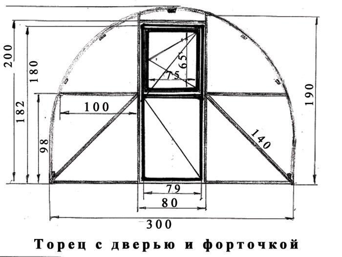 Как сделать теплицу из поликарбоната своими руками из профильной трубы 27